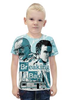 """Футболка с полной запечаткой для мальчиков """"Во все тяжкие (Breaking Bad)"""" - во все тяжкие, breaking bad"""