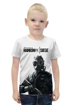 """Футболка с полной запечаткой для мальчиков """"Rainbowsix: siege"""" - игры, игра, персонажи, rainbowsix, футболки с играми"""