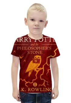 """Футболка с полной запечаткой для мальчиков """"Гарри Поттер"""" - harry potter, гарри поттер, джоан роулинг"""