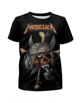 """Футболка с полной запечаткой для мальчиков """"Metallica"""" - heavy metal, metallica, рок музыка, металлика, thrash metal"""
