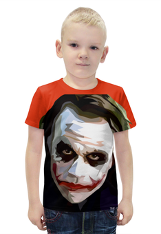"""Футболка с полной запечаткой для мальчиков """"Джокер"""" - joker, комиксы, джокер, бэтмен, дс комикс"""