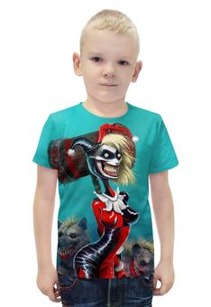 """Футболка с полной запечаткой для мальчиков """"Харли Квинн / Harley Quinn"""" - комиксы, кино, харли квинн"""