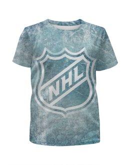"""Футболка с полной запечаткой для мальчиков """"НХЛ (NHL)"""" - nhl, нхл"""
