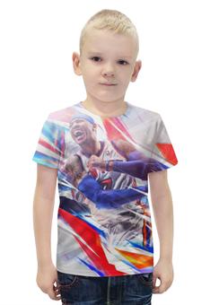 """Футболка с полной запечаткой для мальчиков """"Баскетболист (НБА)"""" - nba, нба"""