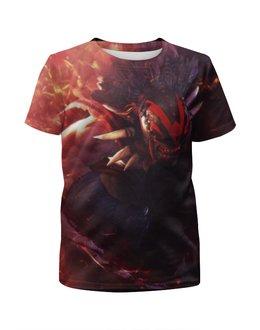 """Футболка с полной запечаткой для мальчиков """"T-Shirt Bloodseeker"""" - dota2, bloodseeker, t-shirt dota2"""