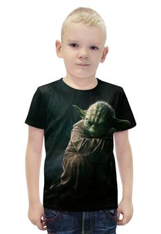 """Футболка с полной запечаткой для мальчиков """"Star Wars - Yoda"""" - star wars, звездные воины, йода"""