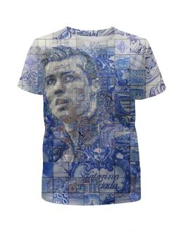 """Футболка с полной запечаткой для мальчиков """"Криштиану Роналду"""" - футбол, арт, криштиану роналду"""