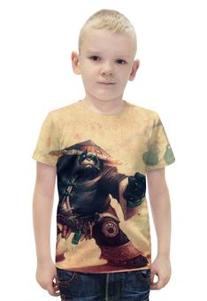 """Футболка с полной запечаткой для мальчиков """"WarCraft Collection: panda"""" - wow, dota, warcraft, дота, варкрафт"""