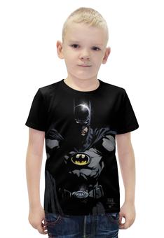 """Футболка с полной запечаткой для мальчиков """"Batman"""" - комиксы, batman, фантастика, бэтмэт"""