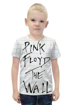"""Футболка с полной запечаткой для мальчиков """"Pink Floyd , пинк флойд , музыка """" - музыка, пинк флойд, pink floyd"""