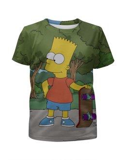"""Футболка с полной запечаткой для мальчиков """"Bart and Stewie"""" - сериалы, приколы, мульт, stewie, bart"""