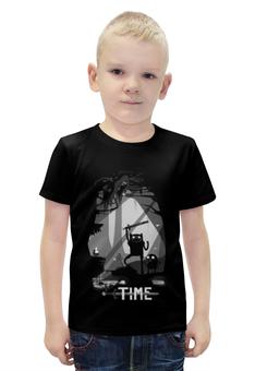 """Футболка с полной запечаткой для мальчиков """"Время Приключений (Adventure Time)"""" - adventure time, время приключений"""