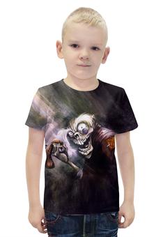 """Футболка с полной запечаткой для мальчиков """"Zombies """" - монстр"""