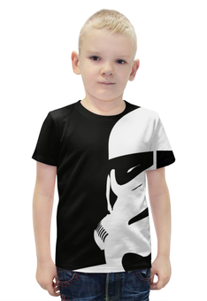 """Футболка с полной запечаткой для мальчиков """"Штурмовик"""" - star wars, darth vader, звездные войны, stormtrooper, дарт вейдер"""
