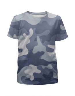 """Футболка с полной запечаткой для мальчиков """"Камуфляж"""" - армия, army, камуфляж, camo, военный"""