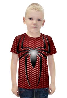 """Футболка с полной запечаткой для мальчиков """"Человек-паук (Spider-man)"""" - spider-man, марвел, человек-паук"""