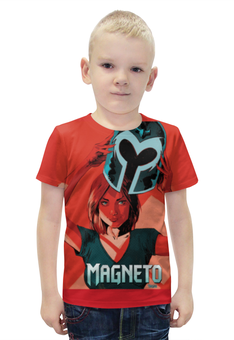 """Футболка с полной запечаткой для мальчиков """"Магнето"""" - люди икс, magneto, xmen, магнето"""