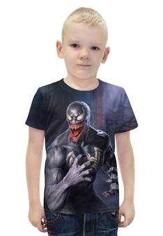 """Футболка с полной запечаткой для мальчиков """"Venom"""" - монстр, ужастик, страшилка, веном"""