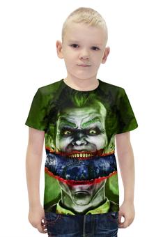 """Футболка с полной запечаткой для мальчиков """"Джокер"""" - joker, комиксы, batman, dc, dc comics"""