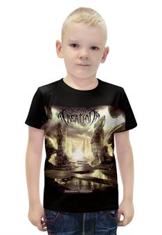 """Футболка с полной запечаткой для мальчиков """"Beyond Creation"""" - музыка, death metal, металл, technical death metal"""