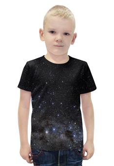 """Футболка с полной запечаткой для мальчиков """"Космос Space """" - space, звезды, космос, вселенная, галактика"""