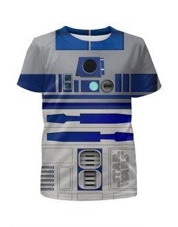 """Футболка с полной запечаткой для мальчиков """"Star Wars Design (R2D2)"""" - фантастика, робот, 3d, звездные войны, дроид"""