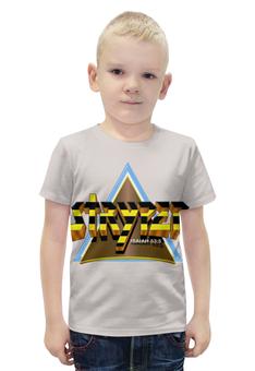 """Футболка с полной запечаткой для мальчиков """"Stryper band"""" - heavy metal, хеви метал, stryper, христианский метал, christian metal"""