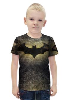 """Футболка с полной запечаткой для мальчиков """"BAtman"""" - batman, бэтмен, бэтман"""