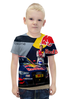 """Футболка с полной запечаткой для мальчиков """"DTM 2016 Mattias Ekstrom"""" - racing, audi, dtm, ekstrom, moscowraceway"""