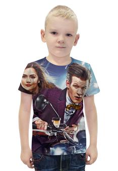 """Футболка с полной запечаткой для мальчиков """"Доктор Кто (Doctor Who)"""" - doctor who, доктор кто"""