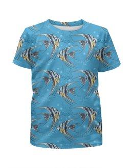 """Футболка с полной запечаткой для мальчиков """"Морские рыбки"""" - стиль, мода, дизайн"""