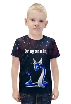"Футболка с полной запечаткой для мальчиков ""PoKeMon Dragonair"" - pokemon, покемон, dragonair, драгонэйр"