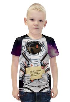 """Футболка с полной запечаткой для мальчиков """"Space. NASA"""" - space, космос, nasa, наса, thespaceway"""