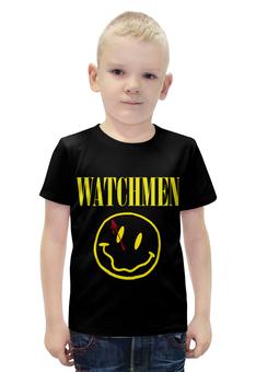 """Футболка с полной запечаткой для мальчиков """"Хранители (Watchmen)"""" - хранители, watchmen"""