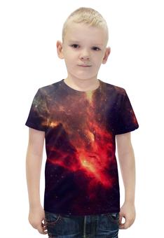 """Футболка с полной запечаткой для мальчиков """"Our Space"""" - звезды, космос, наука, в космосе, thespaceway"""