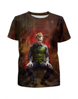 """Футболка с полной запечаткой для мальчиков """"Joker Art"""" - comics, joker, джокер, dc"""