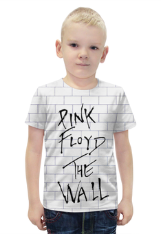 """Футболка с полной запечаткой для мальчиков """"Pink Floyd The Wall"""" - pink floyd"""