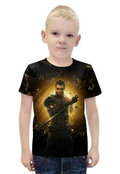"""Футболка с полной запечаткой для мальчиков """"Deus Ex"""" - арт, deus ex"""