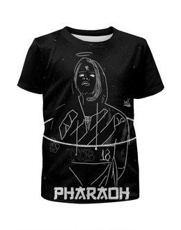 "Футболка с полной запечаткой для мальчиков ""Pharaoh"" - dead, pharaoh, dead dynasty, cold simens"