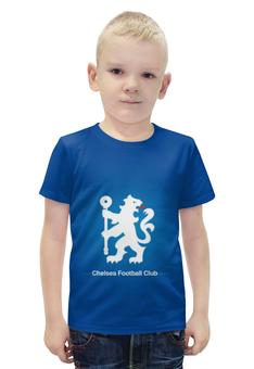 """Футболка с полной запечаткой для мальчиков """"Chelsea (Челси)"""" - челси, chelsea"""