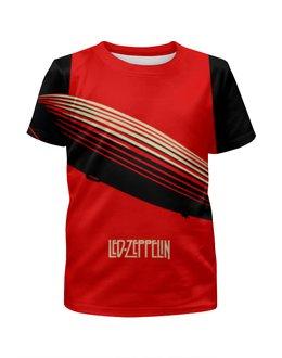 """Футболка с полной запечаткой для мальчиков """"Led Zeppelin"""" - rock, led zeppelin"""