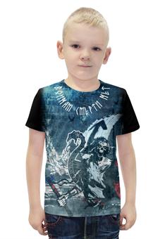 """Футболка с полной запечаткой для мальчиков """"Викинг. Воинам смерти нет !!!"""" - руны, викинг, драккар, viking, berserker"""