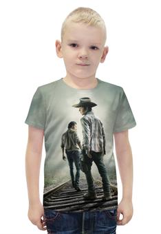 """Футболка с полной запечаткой для мальчиков """"Ходячие Мертвецы (The Walking Dead)"""" - ходячие мертвецы, the walking dead"""