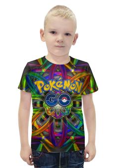 """Футболка с полной запечаткой для мальчиков """"Покемон"""" - pokemon, покемон, пикачу, pikachu, pokemon go"""