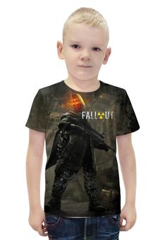 """Футболка с полной запечаткой для мальчиков """"Fallout"""" - games, игра, game, fallout, фаллоут"""