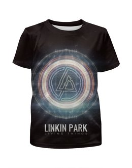 """Футболка с полной запечаткой для мальчиков """"Linkin Park"""" - рок, rock, linkin park, альтернатива"""