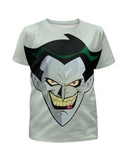 """Футболка с полной запечаткой для мальчиков """"Джокер"""" - joker, комиксы, batman, бэтмен, dc comics"""
