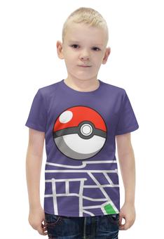 """Футболка с полной запечаткой для мальчиков """"Pokemon go"""" - игры, nintendo, pokemon go"""