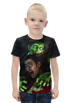 """Футболка с полной запечаткой для мальчиков """"stubbs the zombie"""" - игры, пк, stubbs the zombie"""