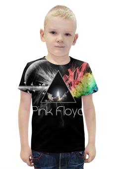 """Футболка с полной запечаткой для мальчиков """"Pink Floyd"""" - rock, pink floyd"""